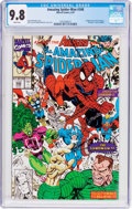 Modern Age (1980-Present):Superhero, The Amazing Spider-Man #348 (Marvel, 1991) CGC NM/MT 9.8 White pages....