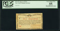 Colonial Notes:New York, New York August 2, 1775 (Water Works) 2s PCGS Apparent Ver...
