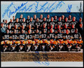 Autographs:Photos, 1966 Green Bay Packers Team Signed Photo. Super Bowl I Champions.. ...