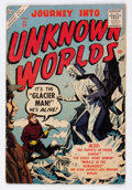 Golden Age (1938-1955):Horror, Journey Into Unknown Worlds #55 (Atlas, 1957) Condition: VG-....