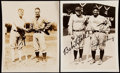 Baseball Collectibles:Photos, Babe Ruth and Lou Gehrig Type IV Photograph Lot of 2 with ImageFeatured on 2010 Topps Card.. ...