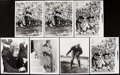 Football Collectibles:Photos, Red Grange Type IV Photograph Lot of 8.. ...