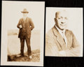 Football Collectibles:Photos, Knute Rockne Type IV Photograph Lot of 2.. ...