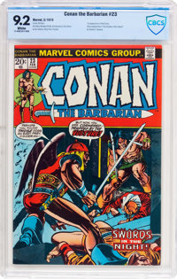 Conan the Barbarian #23 (Marvel, 1973) CBCS NM- 9.2 White pages