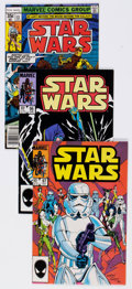 Modern Age (1980-Present):Science Fiction, Star Wars Group of 8 (Marvel, 1978-85) Condition: Average NM-....(Total: 8 Comic Books)