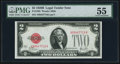 Small Size:Legal Tender Notes, Fr. 1503 $2 1928B Legal Tender Note. PMG About Uncirculated 55.. ...