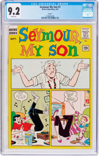 Seymour, My Son #1 Curator Pedigree (Archie, 1963) CGC NM- 9.2 White pages