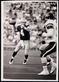 Football Collectibles:Photos, 1992 Brett Favre Second Preseason Game with Green Bay Packers Original Photograph....