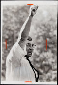 Football Collectibles:Photos, 1967 Vince Lombardi Super Bowl I Original Photograph - Highly Significant!...