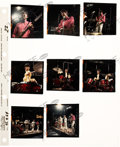 Music Memorabilia:Photos, The Who - Group of Eight Photo Positive Transparencies with Contact Sheet (Germany, 1967)....