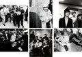 Music Memorabilia:Photos, Beatles - Six Large Format Photos of the Band and Fans by G. Zint(1966).... (Total: 6 Items)