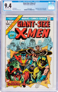 Bronze Age (1970-1979):Superhero, Giant-Size X-Men #1 (Marvel, 1975) CGC NM 9.4 Off-white to white pages....