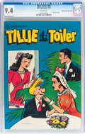 Golden Age (1938-1955):Humor, Four Color #89 Tillie the Toiler - Mile High Pedigree (Dell, 1945) CGC NM 9.4 White pages....