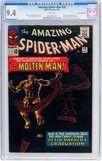 The Amazing Spider-Man #28 Rocky Mountain Pedigree (Marvel, 1965) CGC NM 9.4 White pages