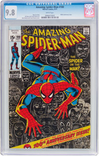 The Amazing Spider-Man #100 (Marvel, 1971) CGC NM/MT 9.8 White pages
