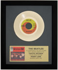 """Miscellaneous Collectibles:General, The Beatles Commemorative """"Penny Lane"""" Golden Record.. ..."""