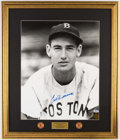 Autographs:Photos, Ted Williams Signed Oversized Photograph. . ...