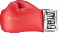 Boxing Collectibles:Autographs, Muhammad Ali Signed Boxing Glove. . ...