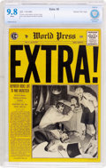 Golden Age (1938-1955):Crime, Extra! #3 Gaines File Pedigree 11/12 (EC, 1955) CBCS NM/MT 9.8 White pages....
