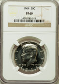 Certified Modern Proof Sets, Five-Piece 1964 Proof Set PR69 NGC. This set will include thefollowing: cent; nickel; dime; quarter; and a half dolla... (Total:5 coins)