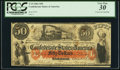 Confederate Notes:1861 Issues, T15 $50 1861 PF-1 Cr. 79 CC.. ...