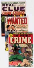Golden Age (1938-1955):Crime, Comic Books - Assorted Golden Age Crime Comics Group of 3 (Various Publishers, 1951) Condition: Average VG/FN.... (Total: 3 Comic Books)