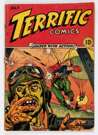 Terrific Comics #4 (Continental Magazines, 1944) Condition: GD