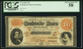 Confederate Notes:1861 Issues, T24 $10 1861 PF-11 Cr. 164.. ...