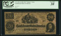Confederate Notes:1862 Issues, T47 $20 1862 XX-2 Fantasy Note.. ...