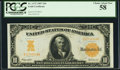 Large Size:Gold Certificates, Fr. 1172 $10 1907 Gold Certificate PCGS Choice About New 58.. ...