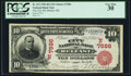 National Bank Notes:Maine, Belfast, ME - $10 1902 Red Seal Fr. 613 The City NB Ch. # (N)7586. ...