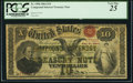 Large Size:Compound Interest Treasury Notes, Fr. 190b $10 1864 Compound Interest Treasury Note PCGS Very Fine25.. ...