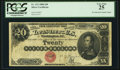 Large Size:Silver Certificates, Fr. 312 $20 1880 Silver Certificate PCGS Very Fine 25.. ...