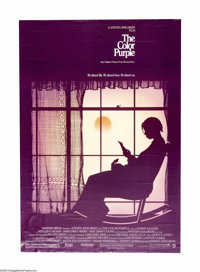 """The Color Purple (Warner Brothers, 1985). One Sheet (27"""" X 41""""). Based on Alice Walker's novel, this film tell..."""