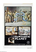 "Movie Posters:Animated, Fantastic Planet (New World Pictures, 1973). One Sheet (27"" X 41"").This metaphorical animation film was the winner of a Spe... (1 )"