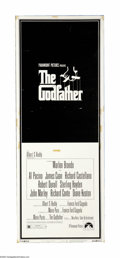 "Movie Posters:Crime, The Godfather (Paramount, 1972). Insert (14"" X 36""). One of thegreatest American films of all time, ""The Godfather"" was the... (1)"
