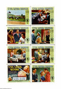 """Movie Posters:Fantasy, I've Lived Before (Universal International, 1956). Lobby Card Set of 8 (11"""" X 14""""). The investigation of reincarnation was a... (8 items)"""