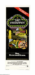 "Movie Posters:Documentary, That's Entertainment! (MGM, 1974). Insert (14"" X 36""). The first of the compilation films from MGM detailing their great his... (1 )"