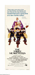 "Movie Posters:Adventure, The Three Musketeers (20th Century Fox, 1974). Insert (14"" X 36"").French country boy D'Artagnan (Michael York) arrives in P... (1 )"