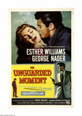 """Movie Posters:Drama, The Unguarded Moment (Universal International, 1956). One Sheet (27"""" X 41""""). Esther Williams stars for the first time in a n... (1 )"""