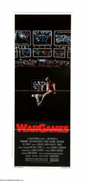 "Movie Posters:Science Fiction, WarGames (MGM/UA, 1983). Insert (14"" X 36""). ""A strange game. The only winning move is not to play."" David Lightman (Matthew... (1 )"
