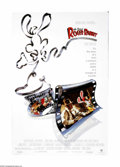 "Movie Posters:Animated, Who Framed Roger Rabbit (Buena Vista, 1988). One Sheet (27"" X 40"").It's the '40s and Toons co-exist with humans in this gro... (1 )"
