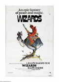 "Movie Posters:Animated, Wizards (Twentieth Century Fox, 1977). One Sheet (27"" X 41""). The ultimate battle of good vs. evil is portrayed by director ... (1 )"