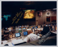 Explorers:Space Exploration, Apollo 13 Mission Control Photo Signed by Fred Haise and Gene Kranz. ...