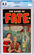 Golden Age (1938-1955):Horror, The Hand of Fate #10 (Ace, 1952) CGC VF+ 8.5 Off-white pages....