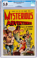 Golden Age (1938-1955):Horror, Mysterious Adventures #1 (Story Comics, 1951) CGC VG/FN 5.0 Cream to off-white pages....