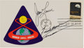 Explorers:Space Exploration, Apollo 8 Crew-Signed First Day Cover Directly from the Family Collection of Astronaut Richard Gordon....