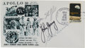 Explorers:Space Exploration, Apollo 10 Crew-Signed Launch Cover Directly from the Family Collection of Astronaut Richard Gordon....