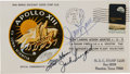 Explorers:Space Exploration, Apollo 13 Flight Crew-Signed Mission Abort Cover Directly from the Family Collection of Astronaut Richard Gordon....