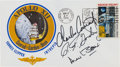 "Explorers:Space Exploration, Apollo 12 Crew-Signed ""Type One"" Insurance Cover Directly from the Family Collection of Mission Lunar Module Pilot Alan Bean, ..."